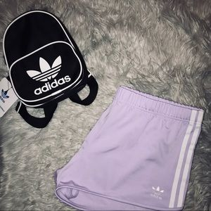 🆕NWT Adidas Original 3-Stripe Shorts